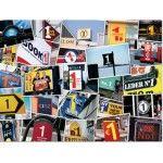 567643 - Puzzle Números 1000 piezas, Piatnik