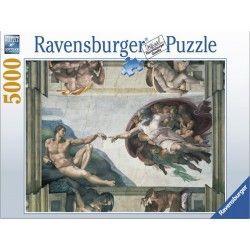 174089 - Puzzle La Creación de Adán, Michelangelo, 5000 piezas, Ravensburger