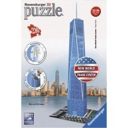 125623 - Puzzle 3D New World Trade Center, 216 piezas, ravensburger