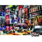 617004 - Puzzle Time Square, New York. 1000 piezas, Jumbo