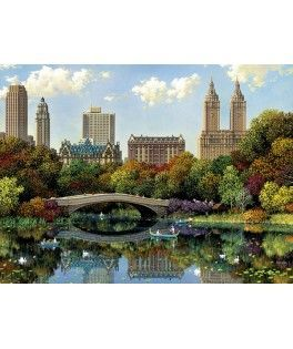 17136 - Puzzle Central Park, Bow Bridge, 8000 piezas, Educa