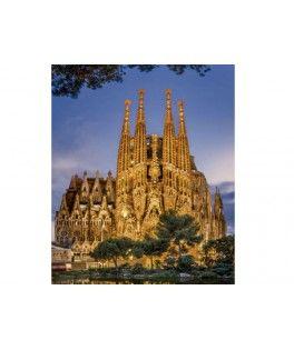 17097 - Puzzle La Sagrada Familia, 1000 piezas, Educa