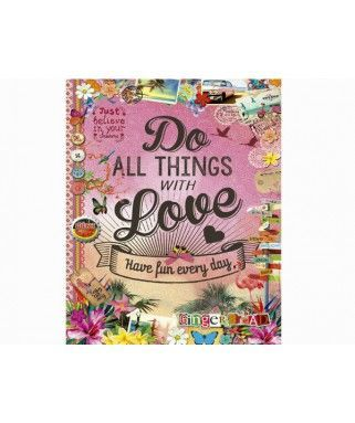 17086 - Puzzle Do all Things With Love, 500 piezas, Educa