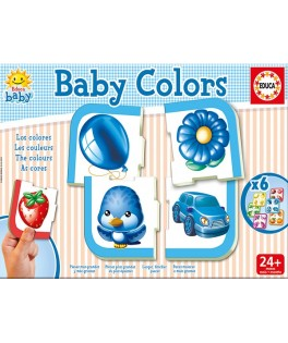 15861 - Puzzle Baby Colors, Educa