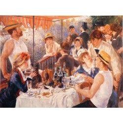 Puzzle El Almuerzo. Renoir. 1000 piezas Piatnik