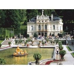 8059 - Puzzle Linderhof, Alemania,1000 piezas, Play Now