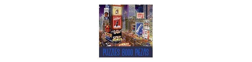 Puzzle 8000 piezas