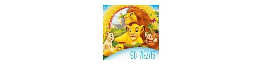 Puzzles infantiles 60 piezas