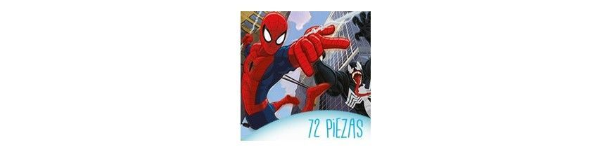 Puzzles infantiles 72 piezas
