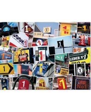 Puzzle Números 1000 piezas
