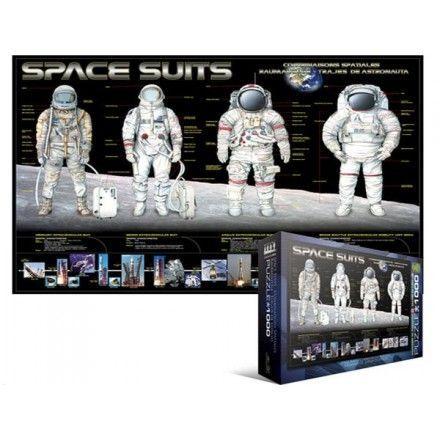 1389 - Puzzle Trajes de Astronautas, 1000 piezas, Eurographics