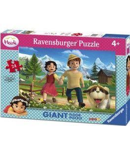 5461 - Puzzle Gigante Heidi, 24 piezas, Ravensburgerq