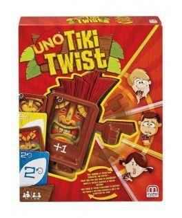 CGH09 - Juego Uno Tiki Twist, Mattel