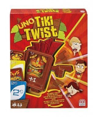 Juego De Mesa Uno Tiki Twist De Mattel