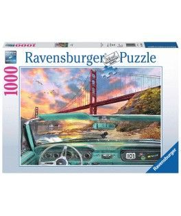 19720 - Puzzle Golden Gate, 1000 piezas, Ravensburger