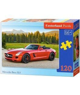 13081 - Puzzle Coche Mercedes Benz, 120 piezas, Castorland