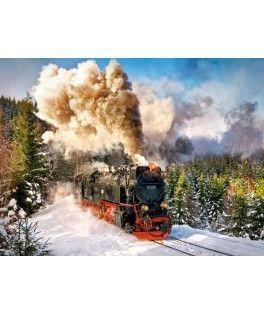 103409 - Puzzle Tren de Vías, 1000 piezas, Castorland