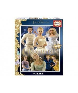 16329 - Puzzle Cenicienta, 500 piezas, Educa
