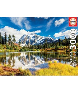 18011 - Puzzle Monte Shuksan, Washington, 3000 piezas, Educa