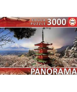 18013 - Puzzle Monte Fuji, 3000 piezas, Educa