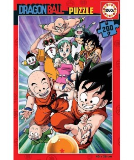 18215 - Puzzle Dragon Ball, 200 piezas, Educa