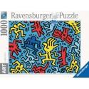 14992 - Puzzle 092 Color 2, Keith Haring, 1000 piezas, Ravensburger