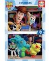 18106 - Puzzle Toy Story 4, 2 x 48 piezas, Educa