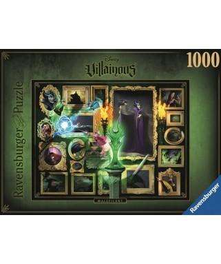 15025 - Puzzle Disney Villanos, Maléfica, 1000 piezas, Ravensburger