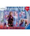 5011 - Puzzle Frozen II, 3 x 49 piezas, Ravensburger