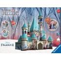 11156 - Puzzle 3D Castillo Frozen, 216 piezas, Ravensburger