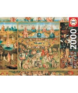 18505 - Puzzle E Jardín de las Delicias, 2000 piezas, Educa