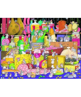 549946 - Puzzle Party Time, 1000 piezas, Piatnik