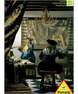 564048 - Puzzle el arte de la pintura, Johannes Vermeer, 1000 piezas, Piatnik