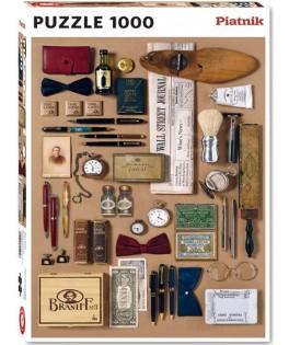 551048 - Puzzle el sofisticado caballero, 1000 piezas, Piatnik