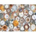 568046 - Puzzle relojes de bolsillo, 1000 piezas, Piatnik