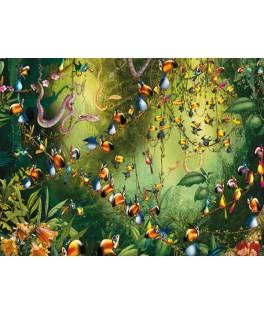 549144 - Puzzle jungla Ruyer, 1000 piezas, Piatnik