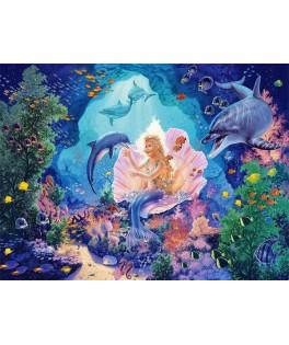 103966 - Puzzle princesa perla Steve Leer, 1000 piezas, Castorland
