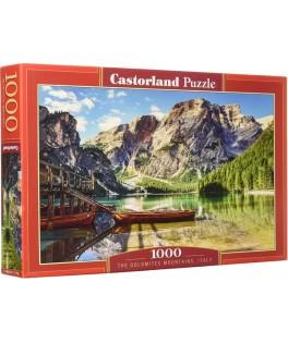 103980 - Puzzle montañas Dolomitas, Italia, 1000 piezas, Castorland