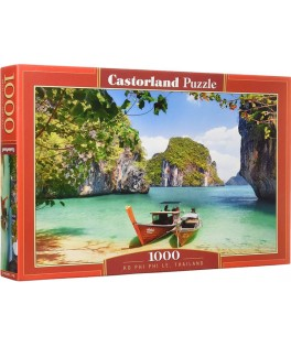 104154 - Puzzle Ko Phi Phi Le, Tailandia, 1000 piezas, Castorland