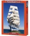 104239 - Puzzle a toda vela barcos, 1000 piezas, Castorland