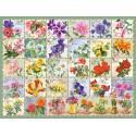 104338 - Puzzle vintage floral, 1000 piezas, Castorland