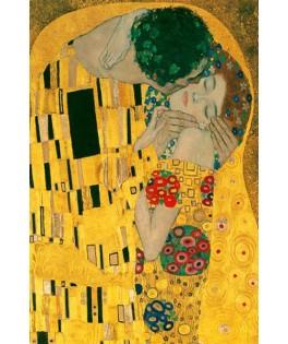 120568 - Minipuzzle el beso, Klimt, 150 piezas, Fridolin