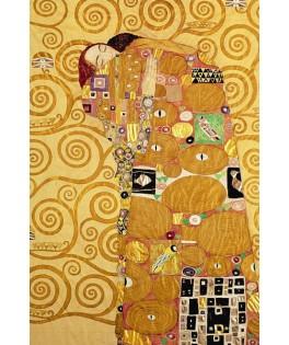 120520 - Minipuzzle el abrazo, Gustav klimt, 150 piezas, Fridolin