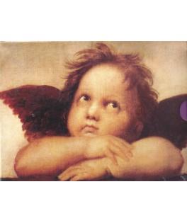 120179 - Minipuzzle detalle Ángel la Madonna Sixtina, 150 piezas, Fridolin