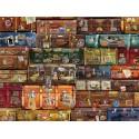 80195 - Puzzle Equipaje, 1000 piezas, Cobble Hill