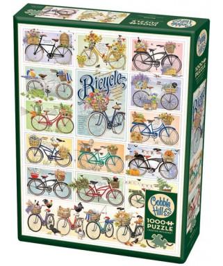 80274 - Puzzle Bicicletas, 1000 piezas, Cobber Hill