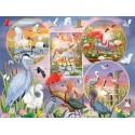 80219 - Puzzle Mágicos Pájaros de Agua, 1000 piezas, Cobble Hill