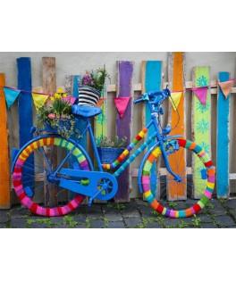 70010 - Puzzle Mi Preciosa Bicicleta Colorida, 1000 piezas, Bluebird