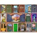 70116 - Puzzle Puertas de Estados Unidos, 2000 piezas, Bluebird