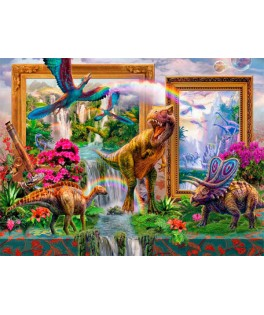 70139 - Puzzle Dinosaurios, 1000 piezas, Bluebird